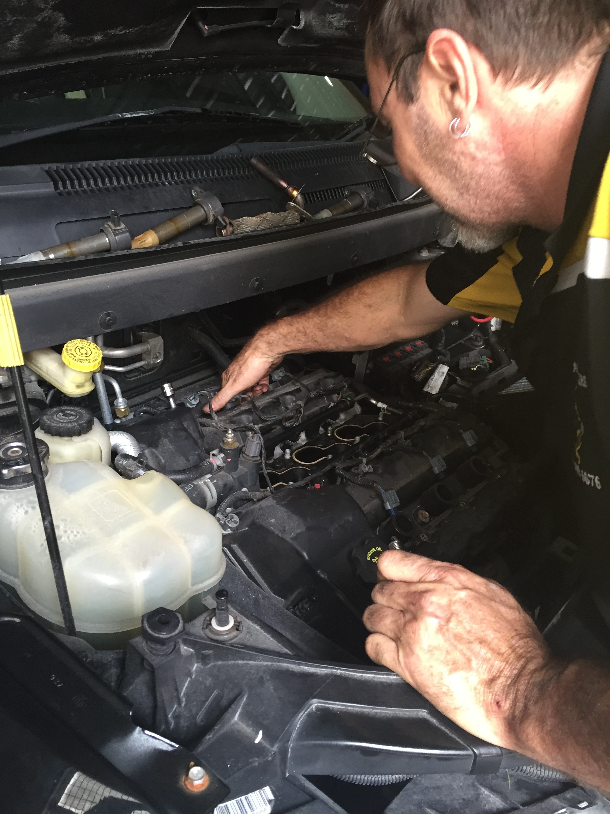 Keeping your vehicle in tip top condition.